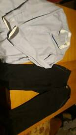 Ted baker shirt and trousers 9-10yrs