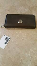 MOSCHINO leather purse brand new