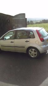 Ford fiesta cdti 5dr allay wheels £700ono looking and driving well