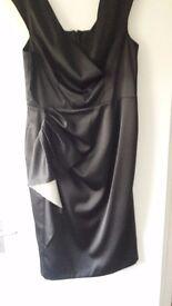 Debenhas formal black dress