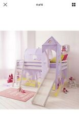 Girls princess cabin bed