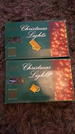 2 boxes of chaser lights.