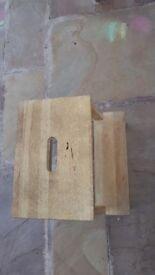 Wooden steps, stool