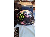 Motorcycle Helmet hjc jorge lorenzo genuine replica