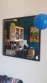 Large square Ikea mirror £10