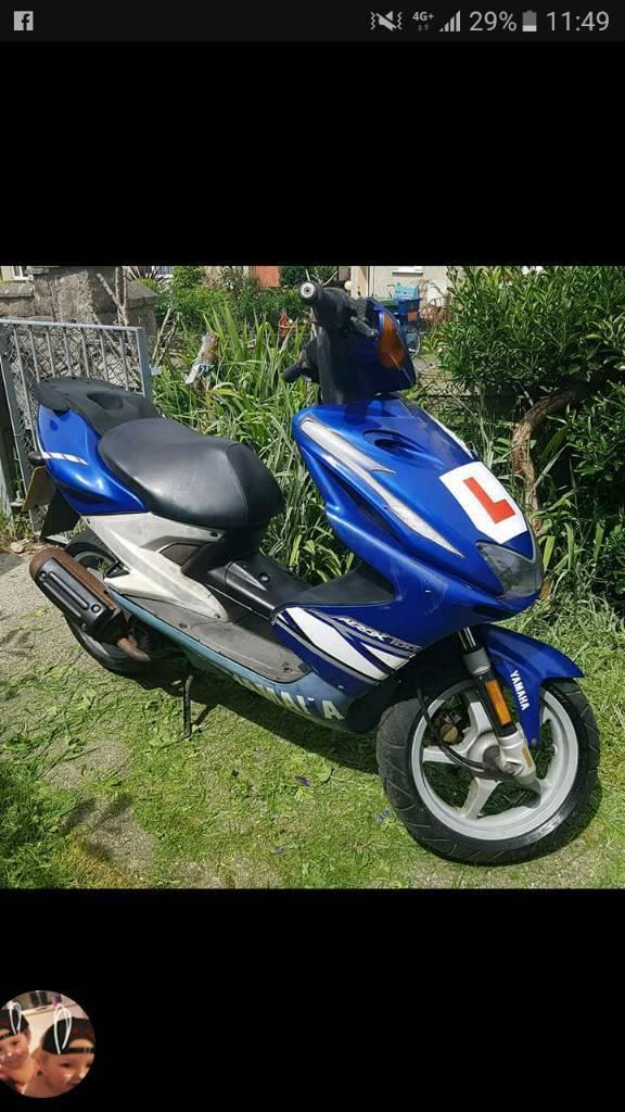Yamaha aerox 100cc moped