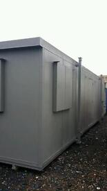 Portable cabin with NEW KITCHEN & TOILET portable office site office shipping container mobile cabin