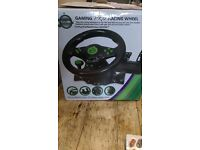gaming pro racing wheel for xbox360