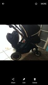 Oyster 2 max double / single buggy stroller