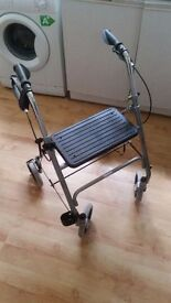 Mobility Care® Heavy Duty Rollator GOOD CONDITION AND SOLID ALMOST NEW