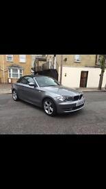 BMW 118 1 series convertible grey 60000 miles