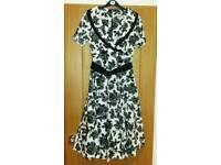 Retro Daisy 50s style dress
