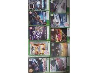 X Box 360 250 gig hard drive .one wireless controller and 15 games