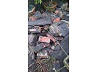 Crazy paving slate slabs / bricks