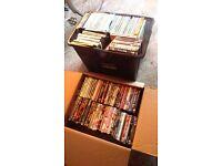 200+ dvds. Box sets etc