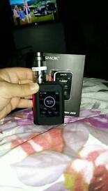 The all new g priv vaping kit with limitless xl tank and sub ohm battery's inc