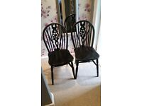 2 Vintage style chairs