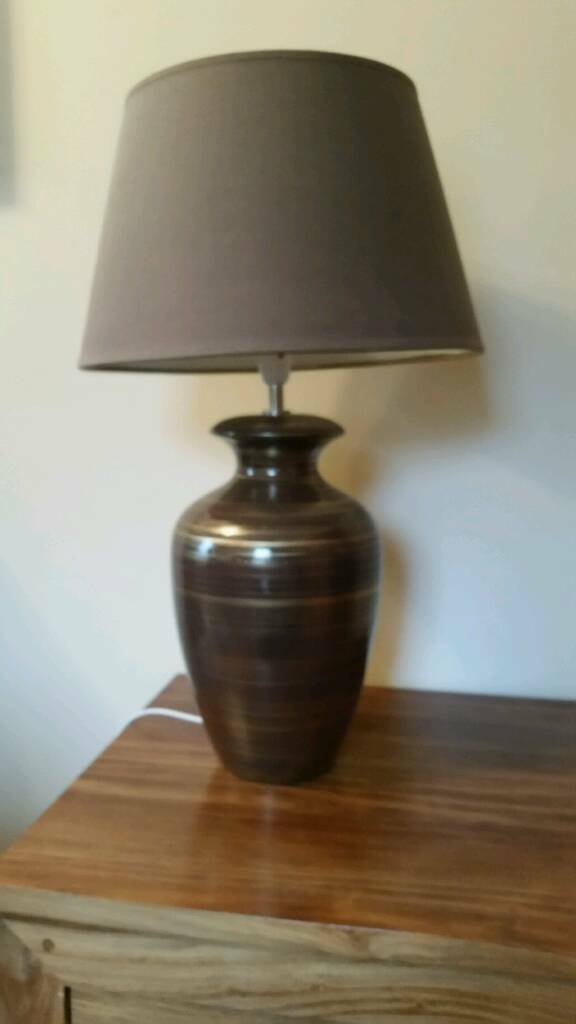 Large pair of matching lamps from Next