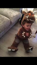 Age 1-2 gruffalo costume world book day dressing up