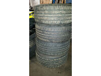 4x tyres 225/35R19 88W very good condition 5-6mm