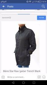 XL men's gstar coat excellent condition wore once