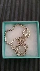 Tiffany chain 18inch authentic
