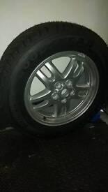 Range Rover Spare Tyre / Wheel