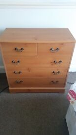 Chest of drawers set of 3