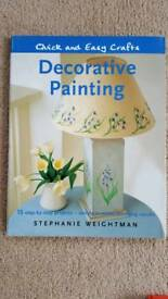 DECORATIVE PAINTING BY STEPHANIE WEIGHTMAN - NEW