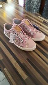 Next girls size 1 shoes Christmas gift
