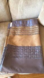 """2 pairs of next curtains 66"""" wide x54"""" long £10 a pair"""
