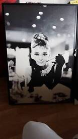 Big Audrey Hepburn and Marylin Monroe pictures