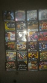 PS1 games 29 & 3 mem card inc spyro bandicoot pink panther tomb raider titles in pics £120 for all