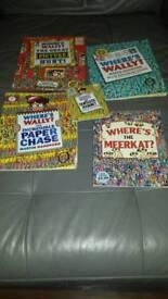 Where's wally/meerkat books