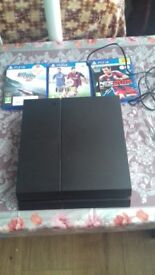 Ps4 plus 3 games **No controller**