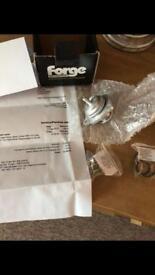 Forge recirculating valve