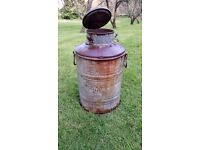 Old Milk Churn, ideal for plants