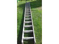 7ft Heavy Extending ladder to 14ft