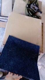 Used wooden floor tiles