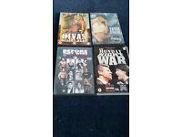 4 x WWE Wrestling Documentaries
