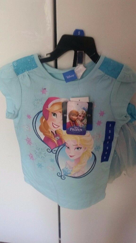 Brand New Frozen Clothes Sets
