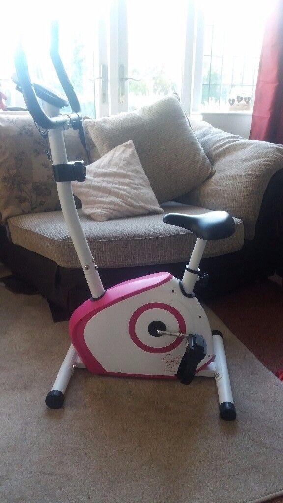 Davina McColl exercise bike 35 ono