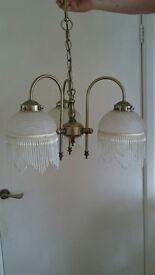 Beautiful glass lamps