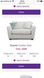 DFS Sophia Range Sofa