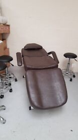 BEAUTY BED MASSAGE COUCH TATTOO CHAIR;With free stool;CASH ON COLLECTION ONLY 2 COLOURS Birmingham