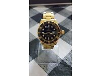 Rolex Submariner Mens Watch Gold/Black Color Brand New High Quality