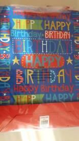 Boys birthday bags