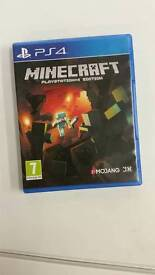Mine craft ps4 edition