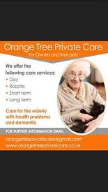 Just tenancy/respite/residential/assisted care