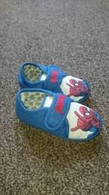 Boys next Spiderman slippers